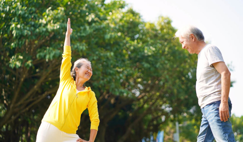 老人肌力訓練